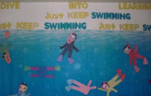 swimming theme