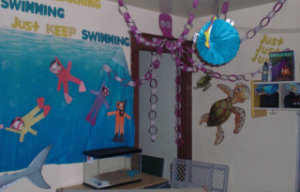 swimming theme