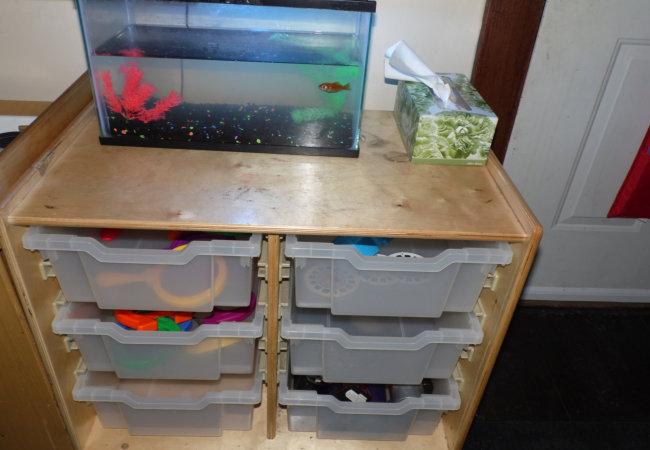 storage for toys