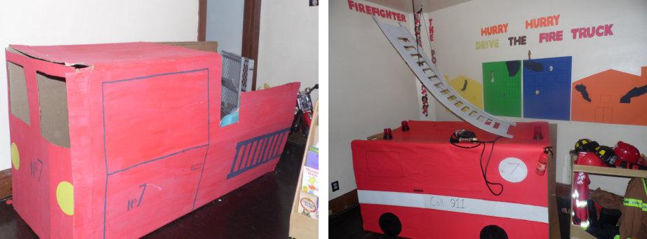 firetruck crafts